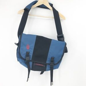 Timbuk2 Blue Black Messenger Laptop Bag